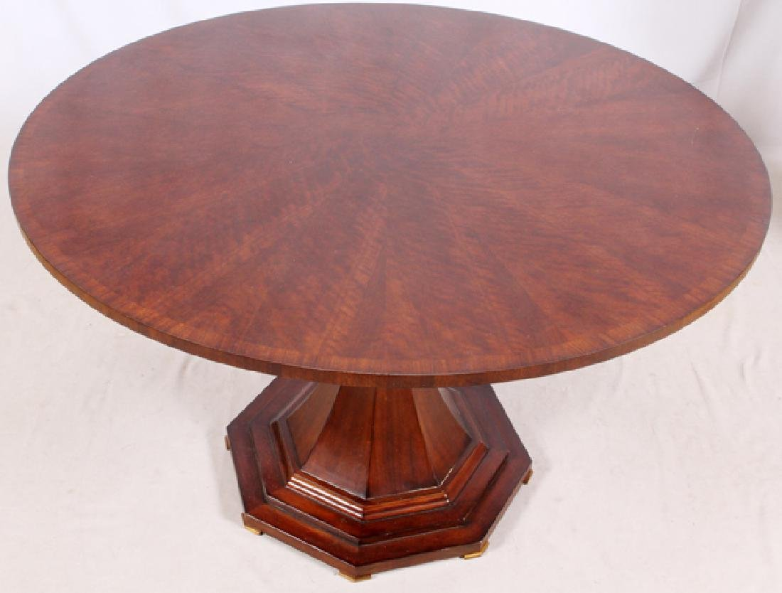 CENTURY FURNITURE CO. MAHOGANY DINING TABLE, 2014 - 2