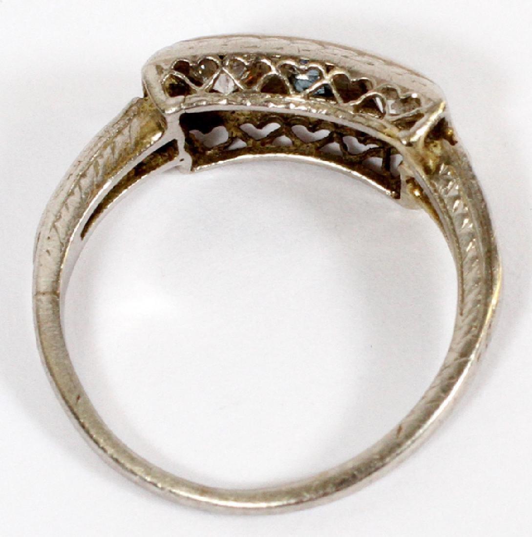 ANTIQUE DIAMOND RING - 2