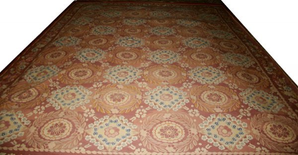040022: AUBUSSON TAPESTRY, 10'x14'