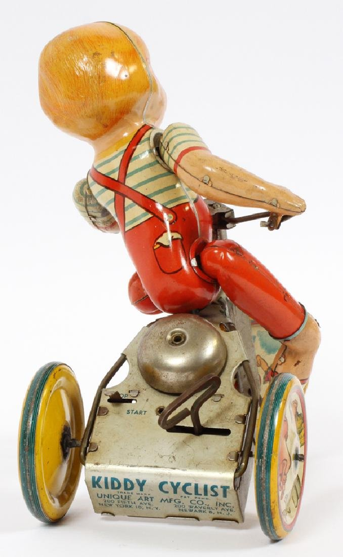 UNIQUE ART WIND-UP TIN TOY CIRCA 1950 - 3
