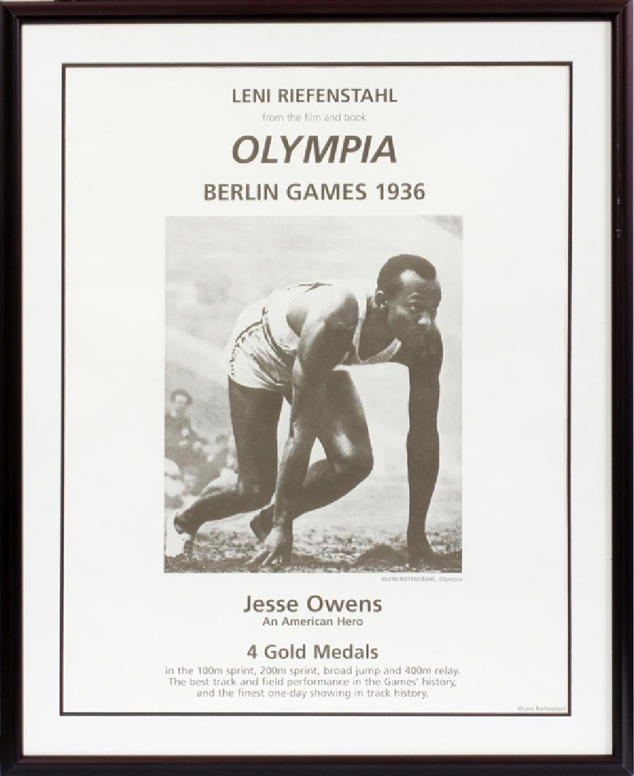 LENI RIEFENSTAL 1936 BERLIN OLYMPIC POSTER