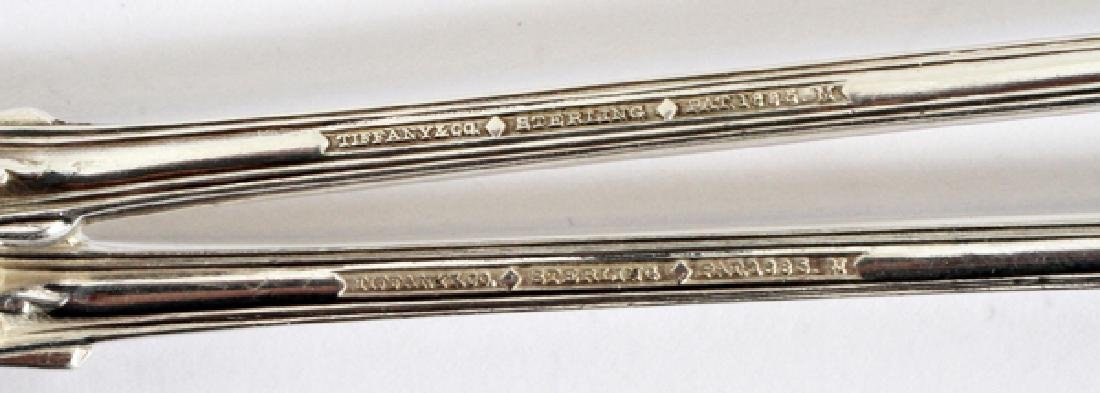 TIFFANY & CO.'ENGLISH KING' STERLING SILVER SPOONS - 2