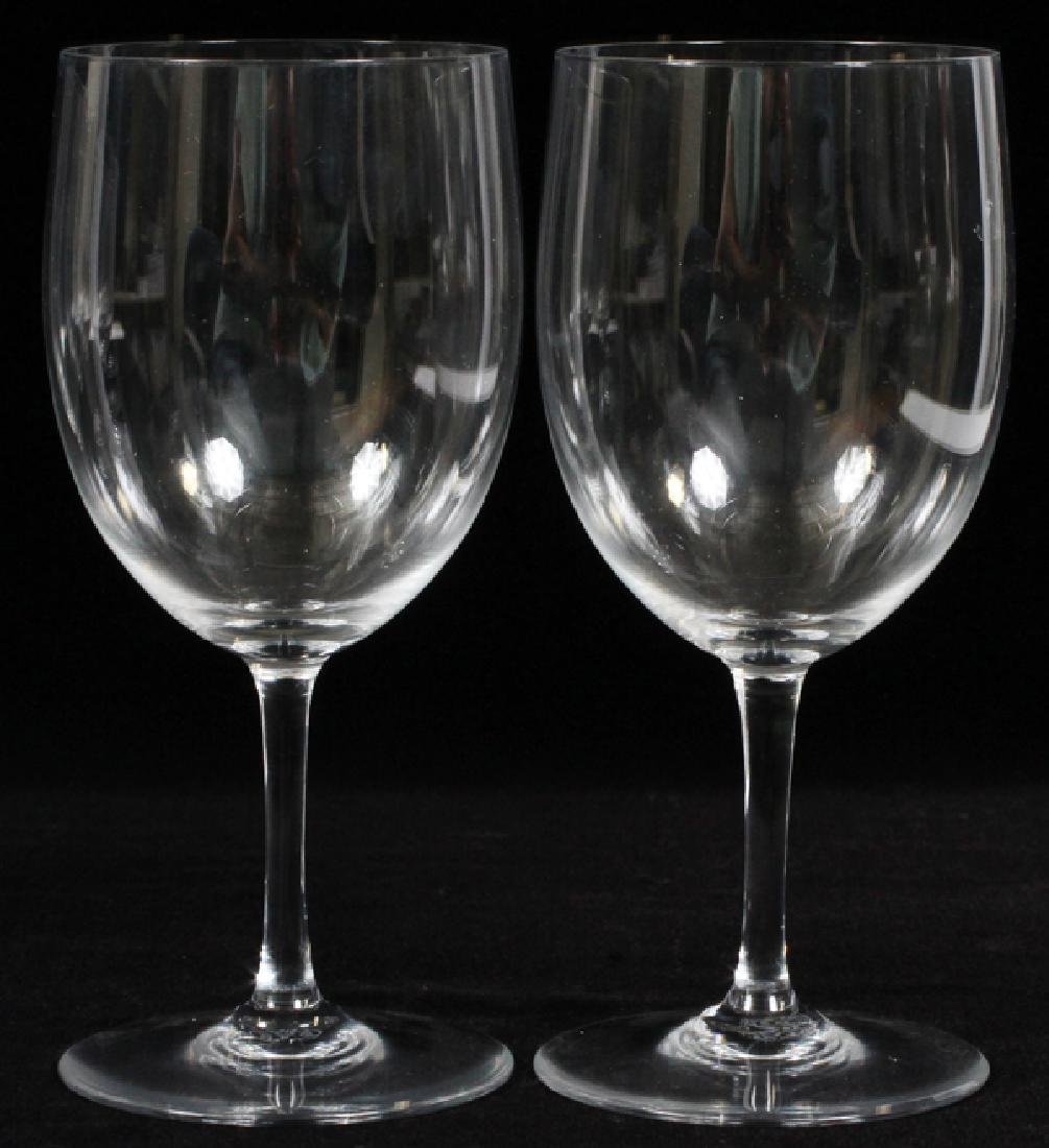 BACCARAT 'PERFECTION' CRYSTAL WATER GOBLETS, EIGHT - 2