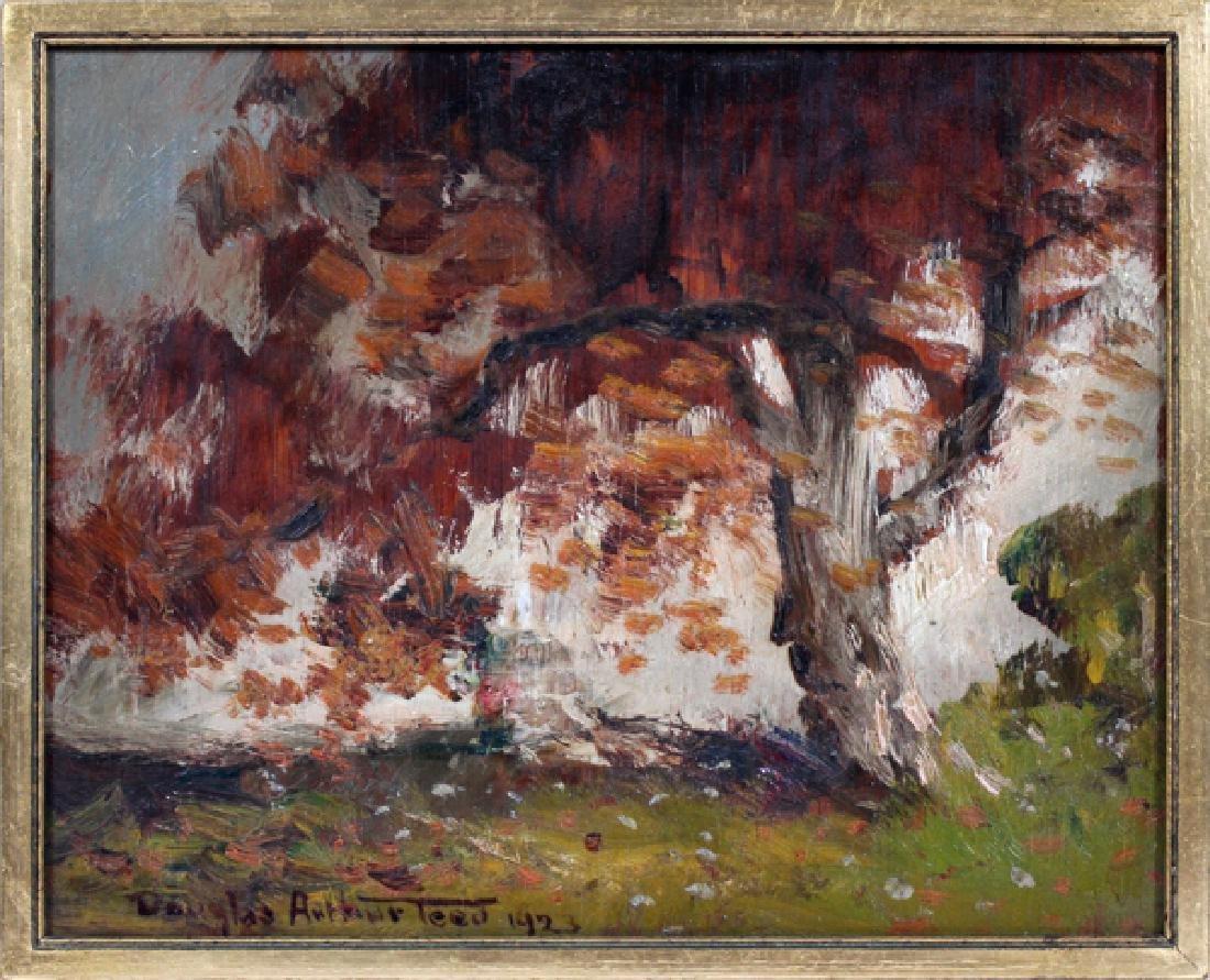 DOUGLAS ARTHUR TEED OIL ON WOOD, 1923