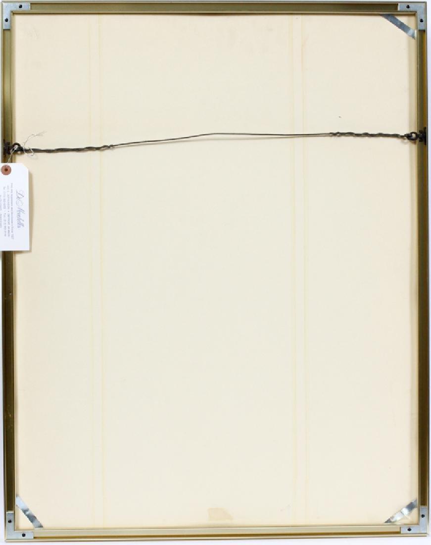 "LIBBY GOLDEN COLOR AQUATINT, 1970 ""THE FACTORY"" - 4"