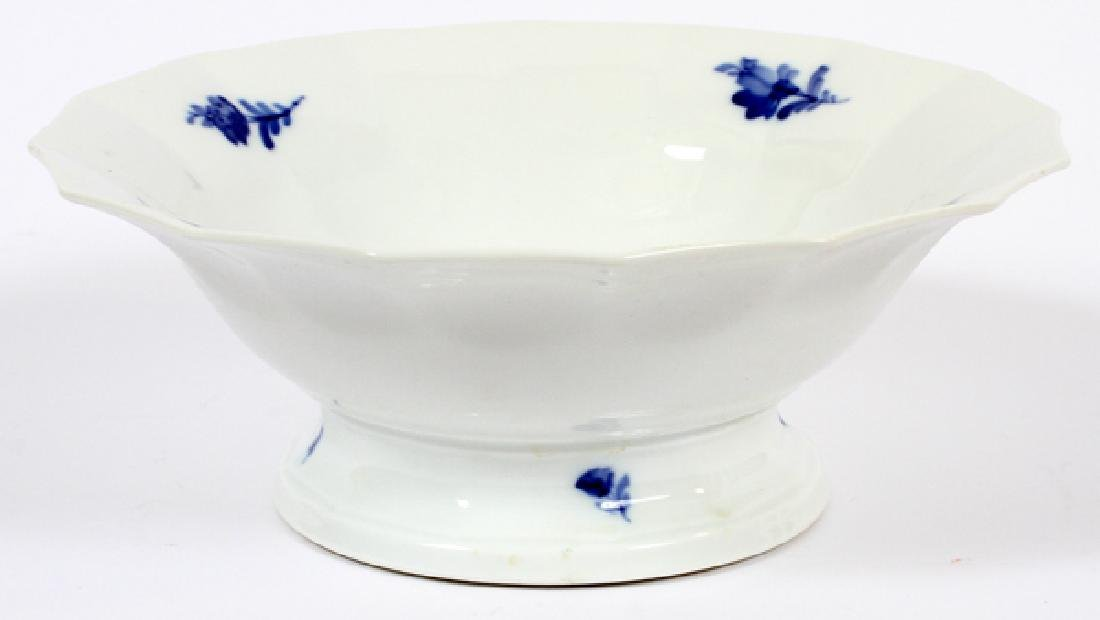 "ROYAL COPENHAGEN BOWL, ""BLUE FLOWERS"""