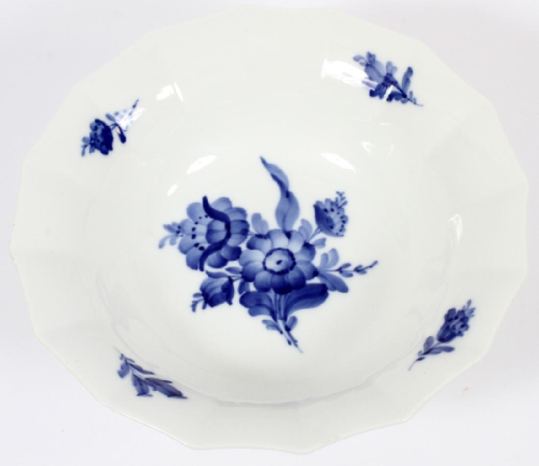 "ROYAL COPENHAGEN BOWL, ""BLUE FLOWERS"" - 2"