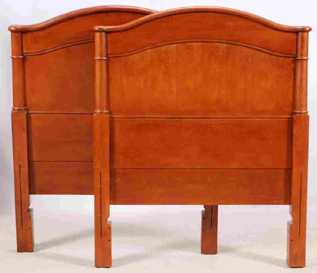 """EMPIRE STYLE, HEAD BOARDS, PAIR, H 53 1/2"""", W 43"""""""