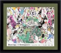 LEROY NEIMAN LITHOGRAPH ON PAPER 1981