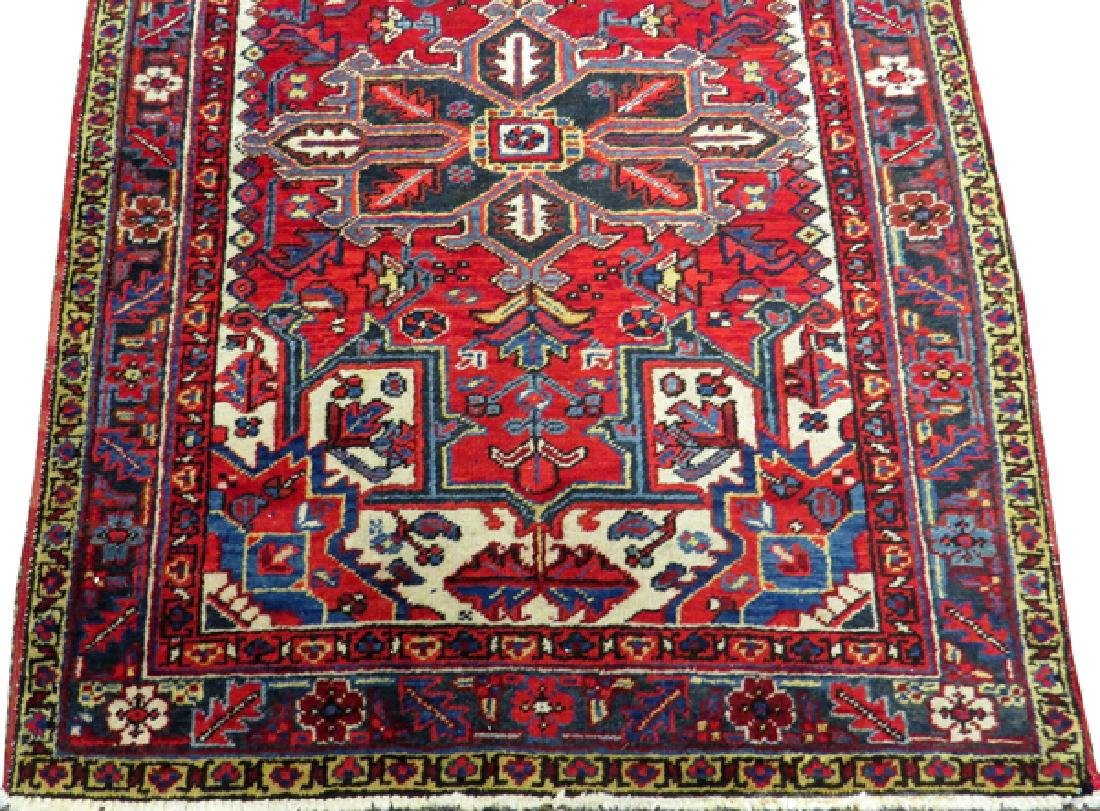 PERSIAN HERIZ HANDWOVEN WOOL RUG - 2