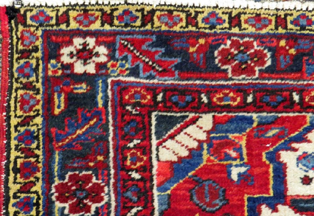 PERSIAN HERIZ HANDWOVEN WOOL RUG - 3