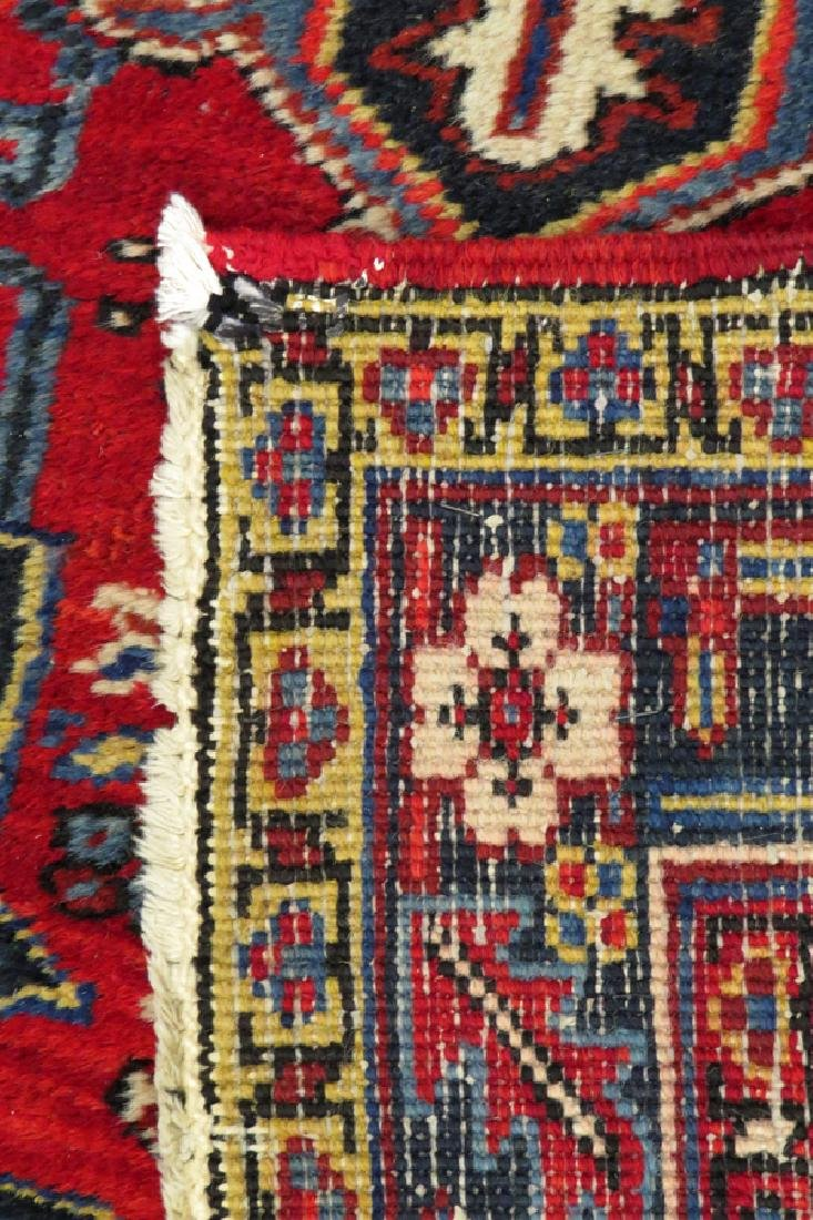PERSIAN HERIZ HANDWOVEN WOOL RUG - 4