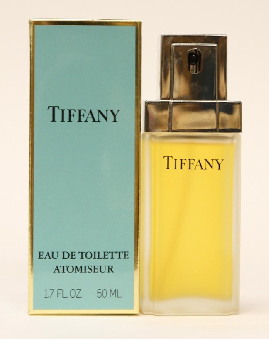 """TIFFANY & CO  BOTTLE """"EAU DE TOILETTE ATOMISEUR"""""""
