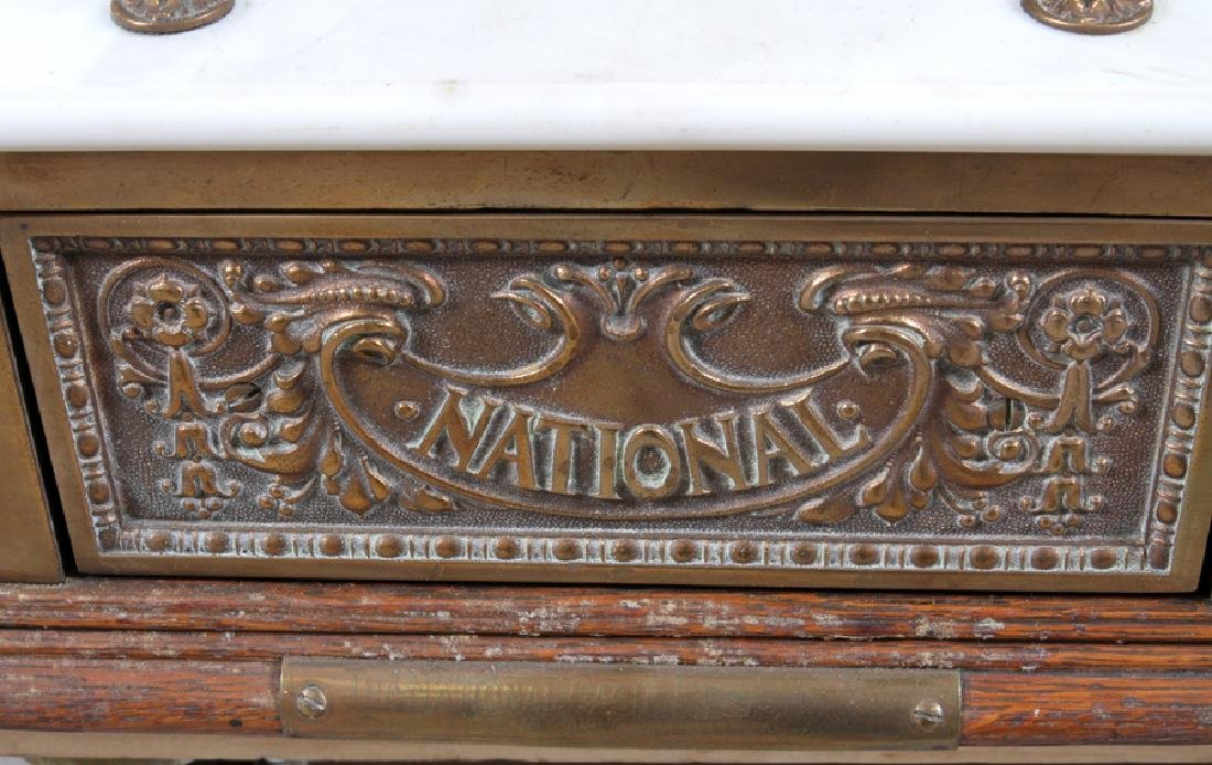 ANTIQUE NATIONAL CASH REGISTER 19TH.C. - 2