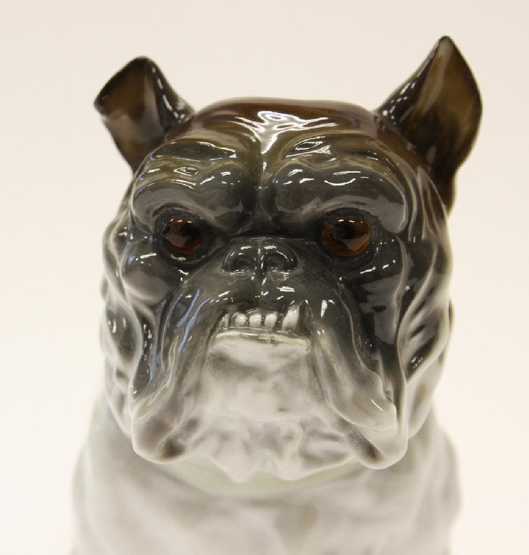 NIPPON PORCELAIN BULL DOG FIGURE - 2
