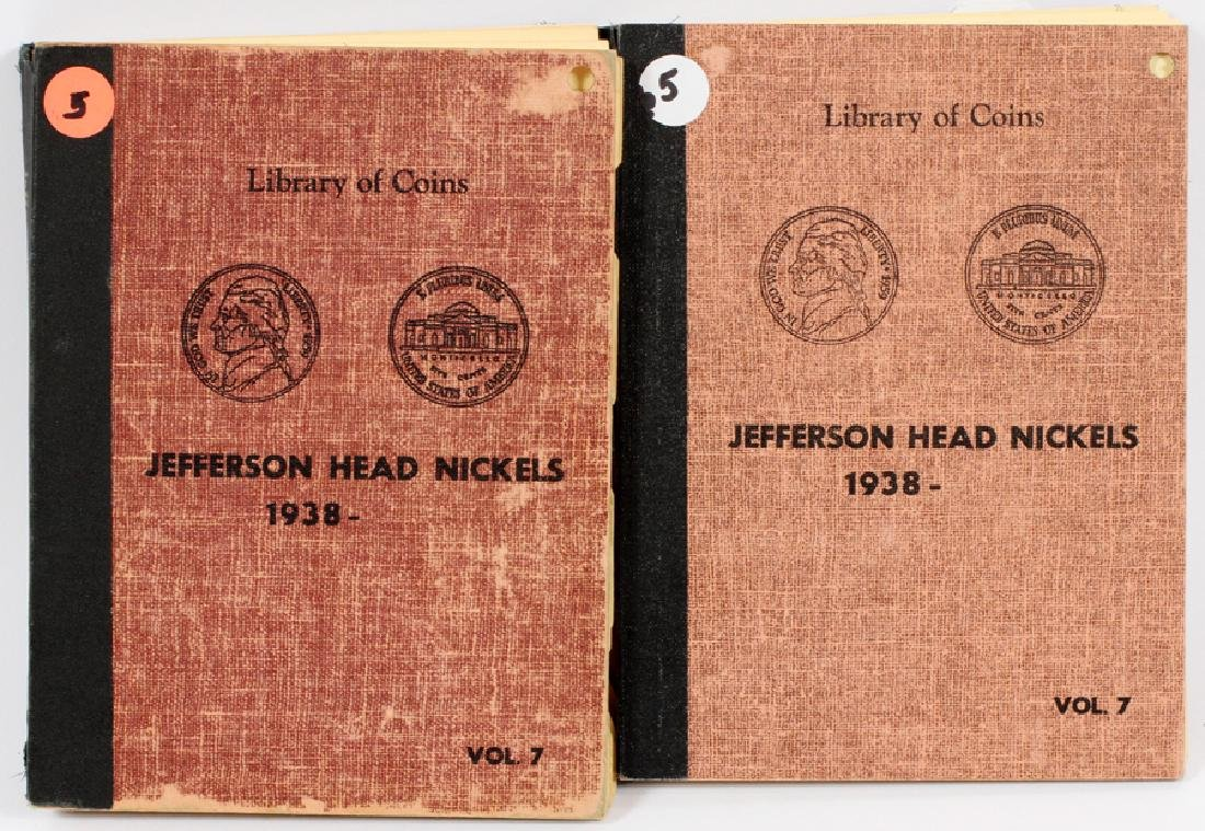 U.S. LIBRARY OF COINS 1938- JEFFERSON HEAD NICKELS - 2