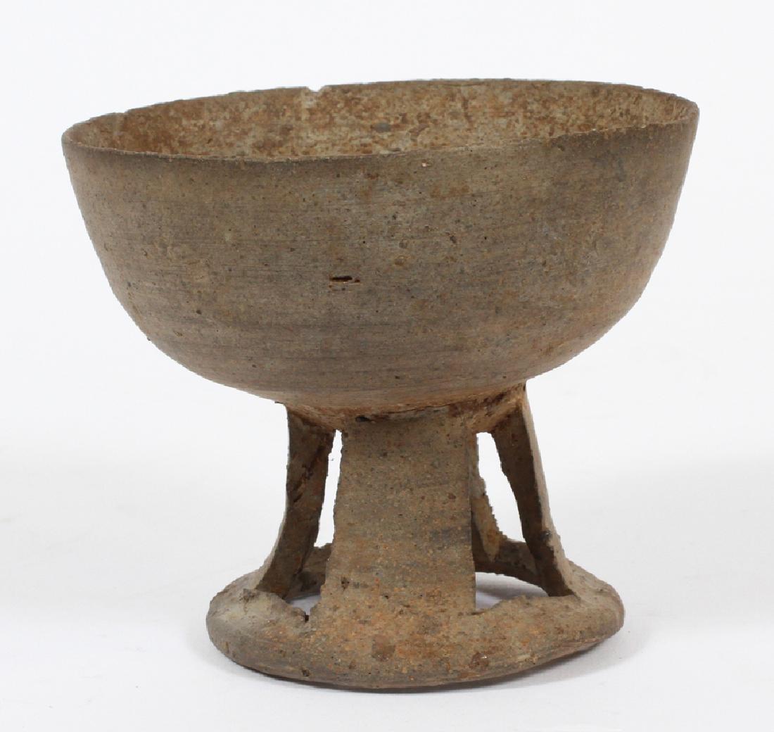 KOREAN SILLA PERIOD (57 BC- 935 AD), POTTERY BOWL