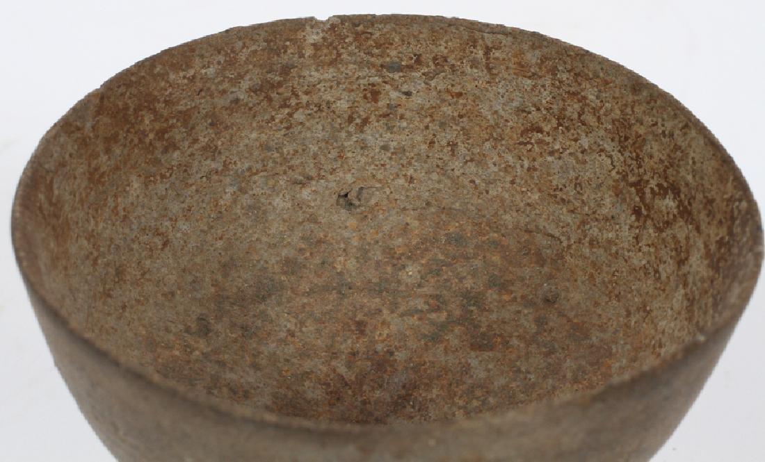 KOREAN SILLA PERIOD (57 BC- 935 AD), POTTERY BOWL - 2