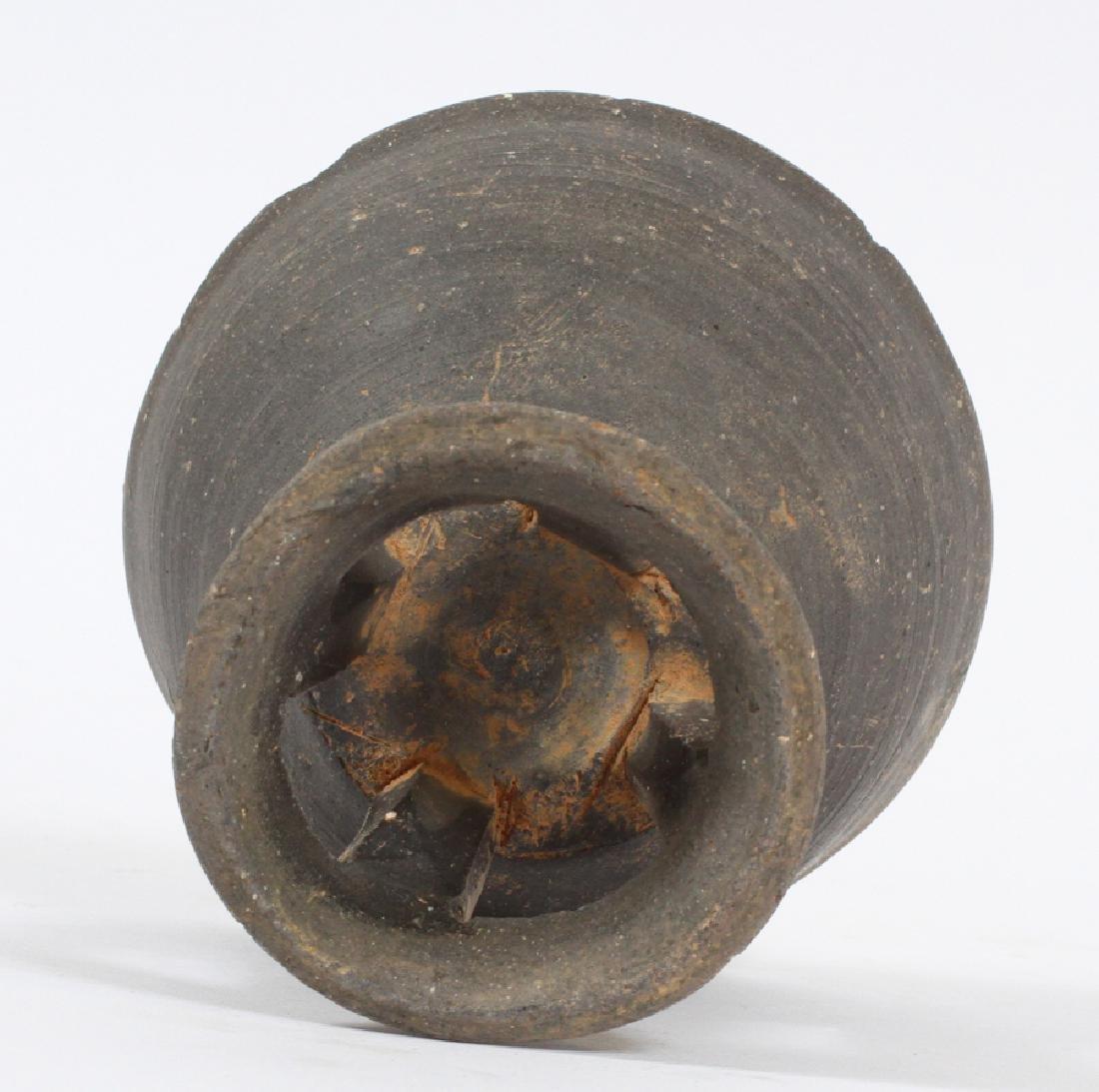 KOREAN SILLA PERIOD (57 BC- 935 AD), POTTERY BOWL - 4