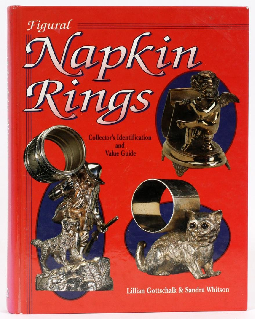 NAPKIN RING AUTOGRAPHED BOOK