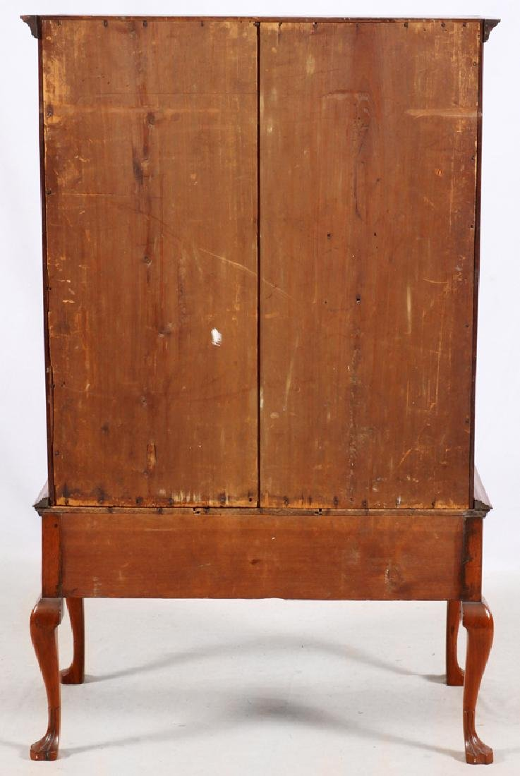 QUEEN ANNE MAHOGANY HIGHBOY, C. 1760 - 6