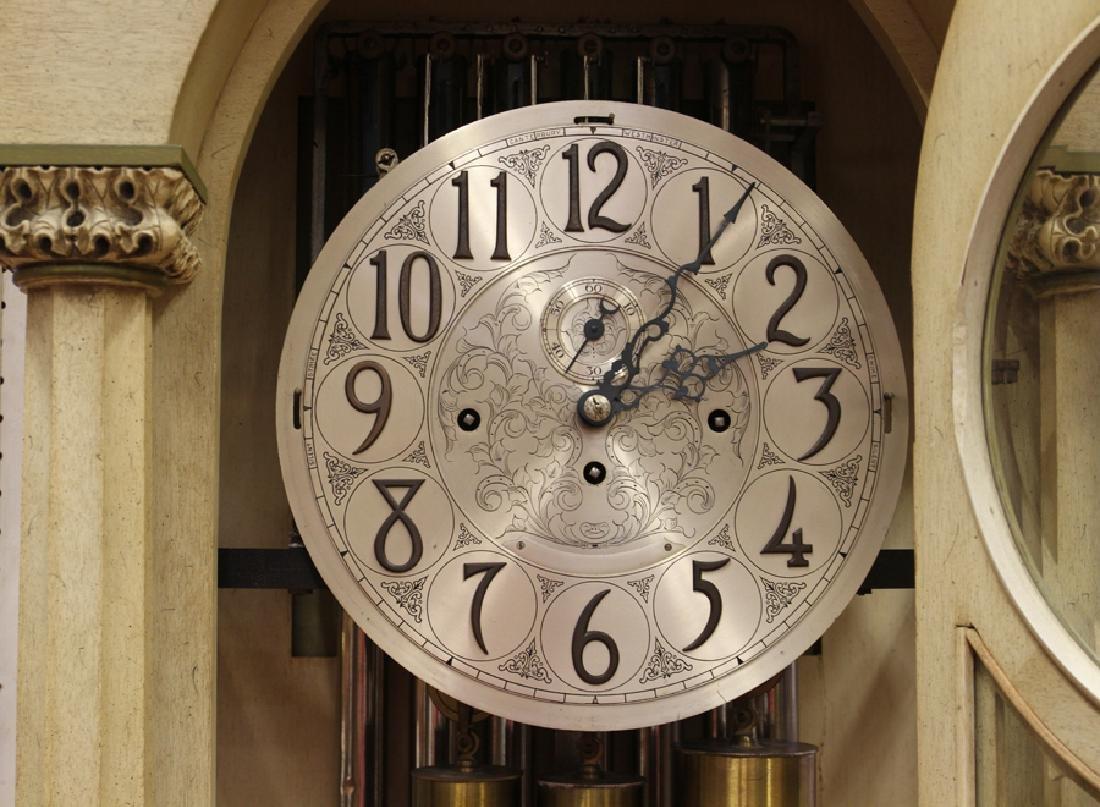 HERSCHEDE TALL CASE CLOCK - 2