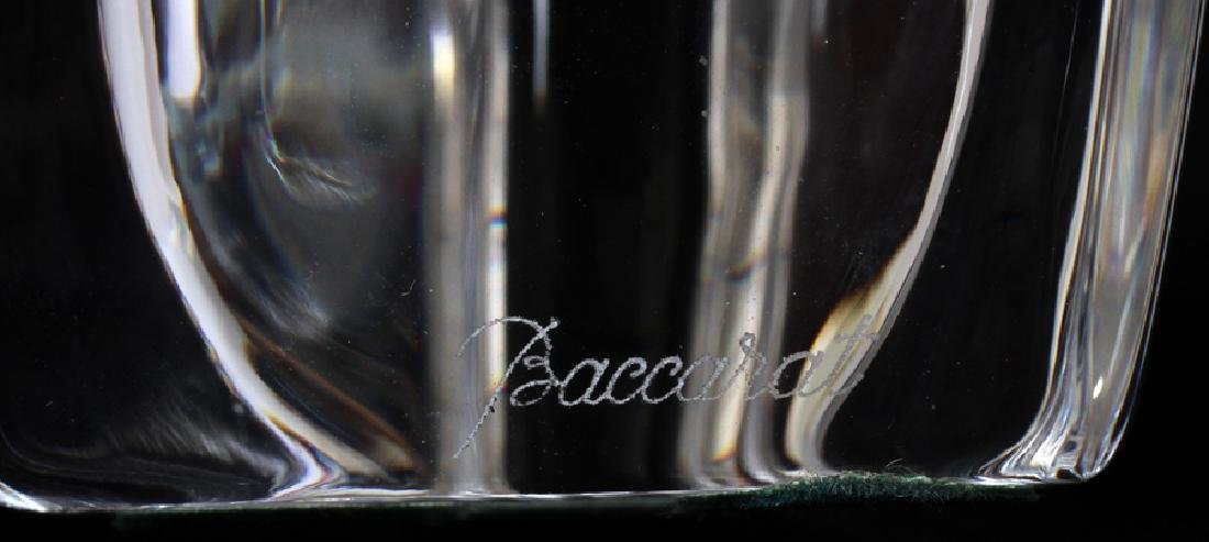 BACCARAT CRYSTAL & BLOWN GLASS BUD VASES - 2