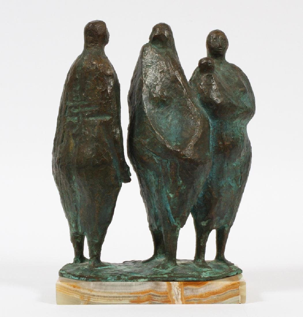 FRANCISCO ZUNIGA BRONZE SCULPTURE C.1962