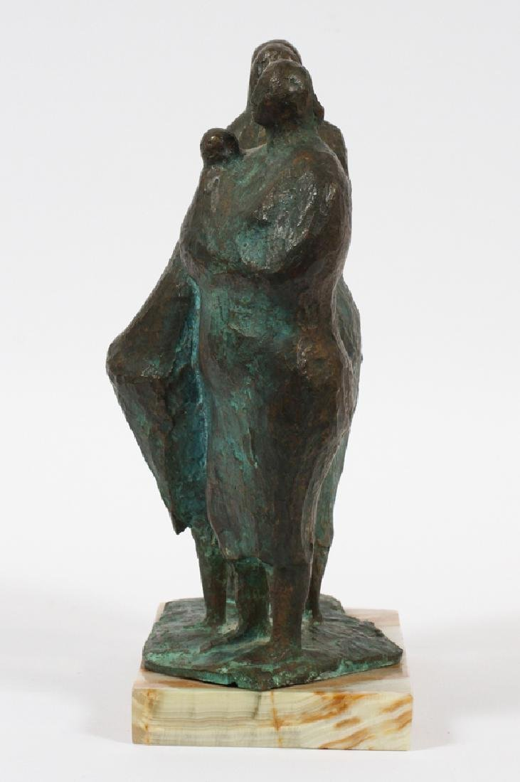 FRANCISCO ZUNIGA BRONZE SCULPTURE C.1962 - 2
