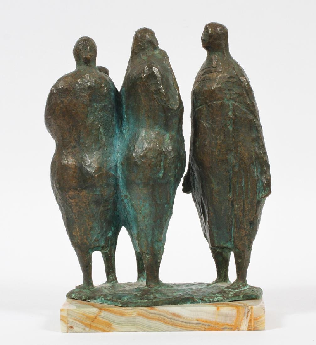FRANCISCO ZUNIGA BRONZE SCULPTURE C.1962 - 3