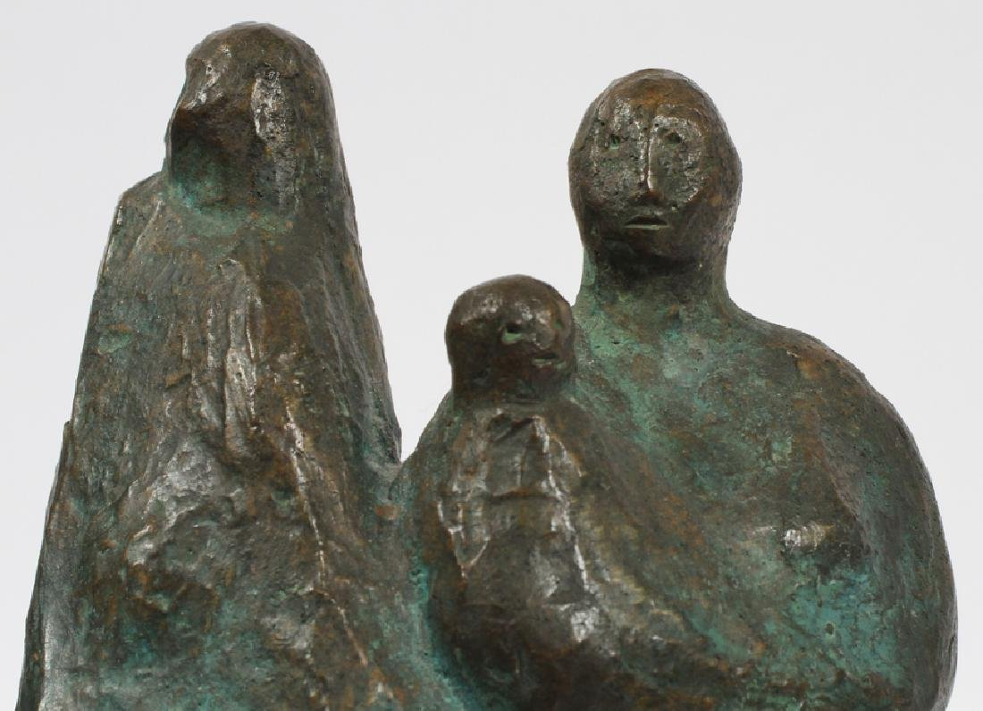FRANCISCO ZUNIGA BRONZE SCULPTURE C.1962 - 5