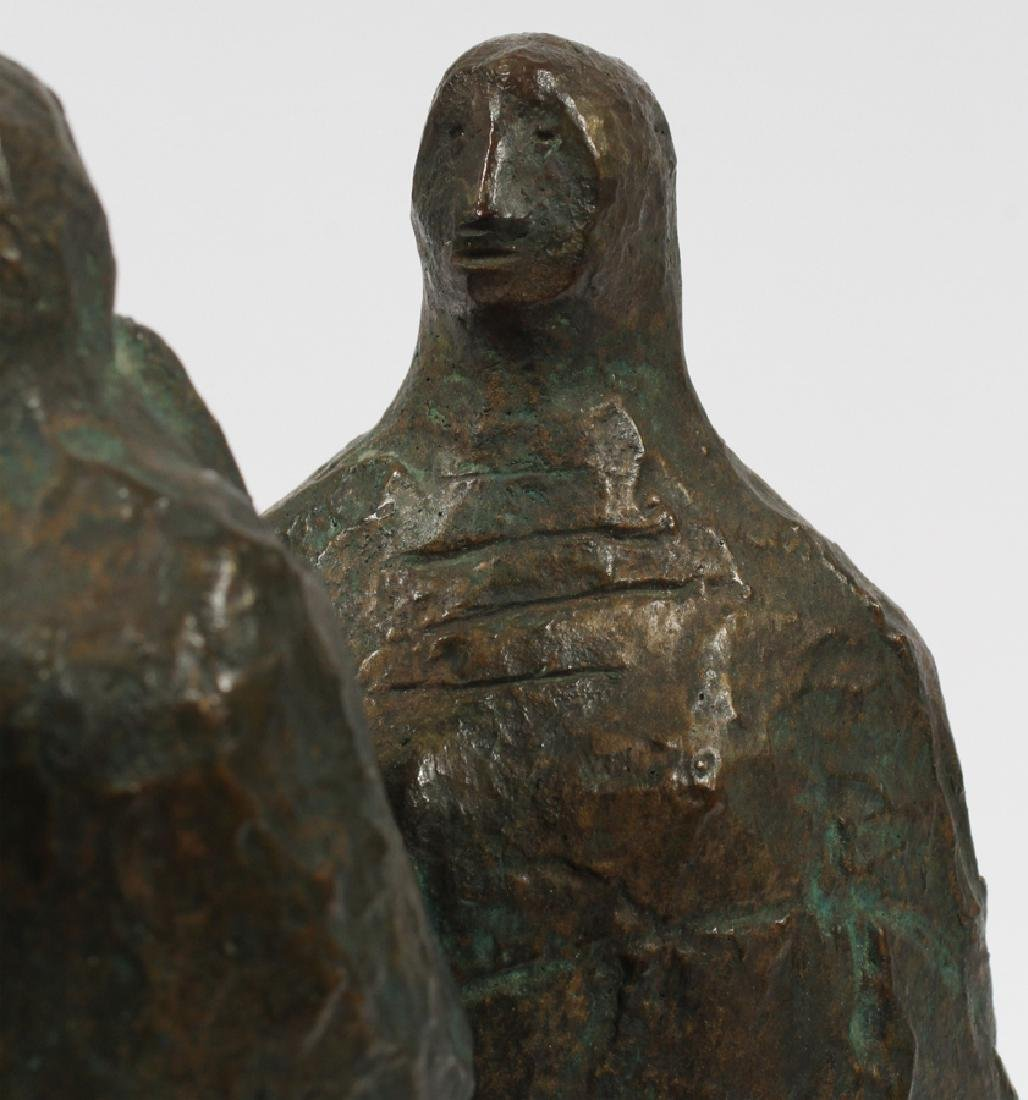 FRANCISCO ZUNIGA BRONZE SCULPTURE C.1962 - 6