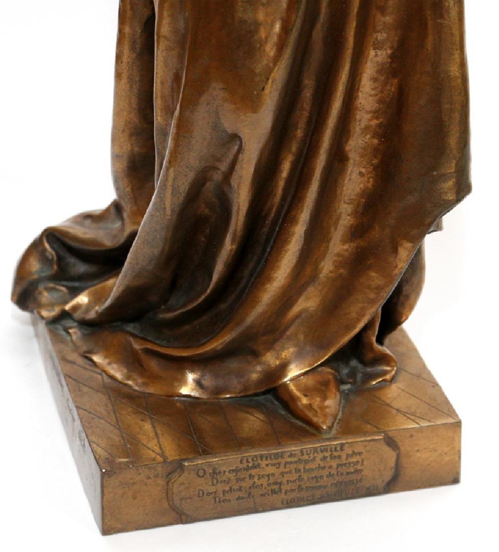 JEAN GAUTHERIN GOLD D'ORE BRONZE SCULPTURE, 1877 - 3