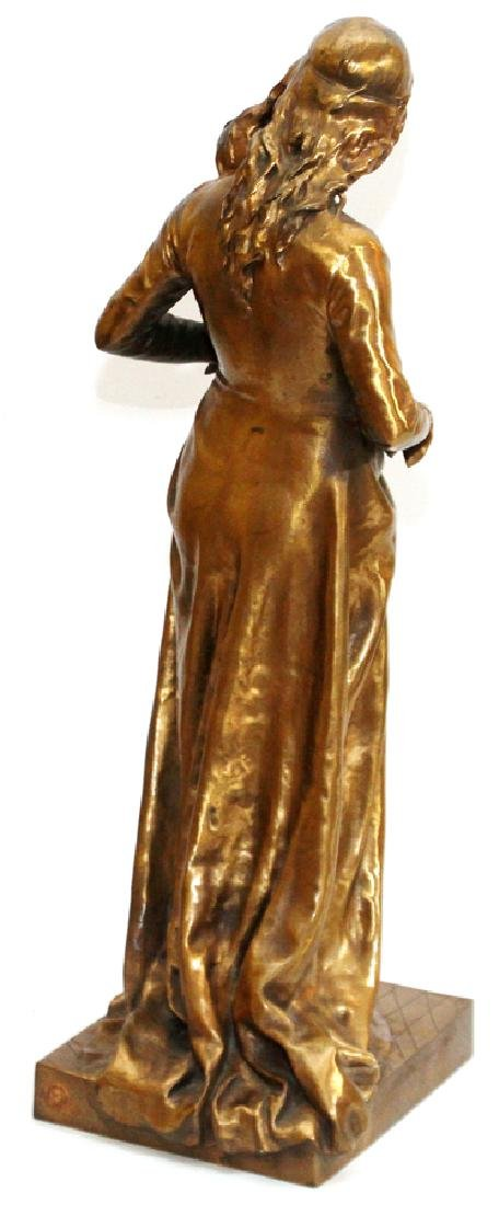 JEAN GAUTHERIN GOLD D'ORE BRONZE SCULPTURE, 1877 - 4