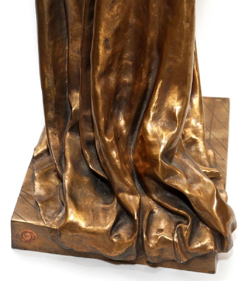JEAN GAUTHERIN GOLD D'ORE BRONZE SCULPTURE, 1877 - 5
