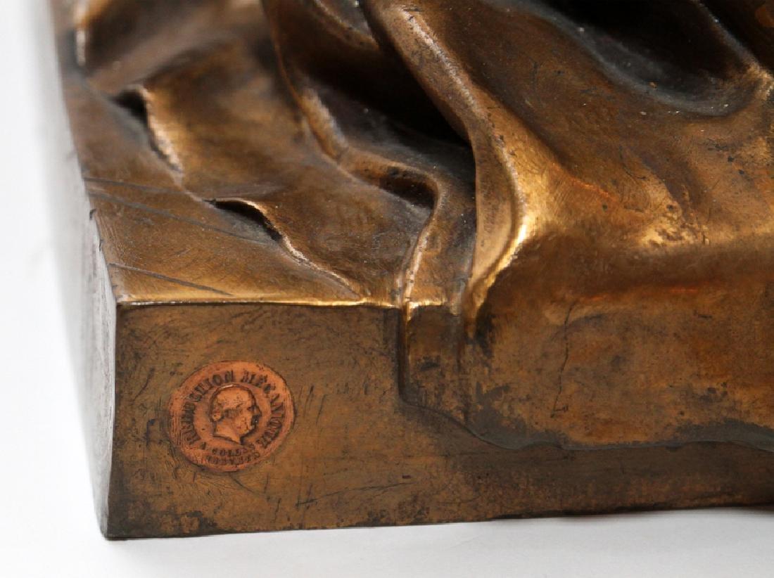 JEAN GAUTHERIN GOLD D'ORE BRONZE SCULPTURE, 1877 - 6