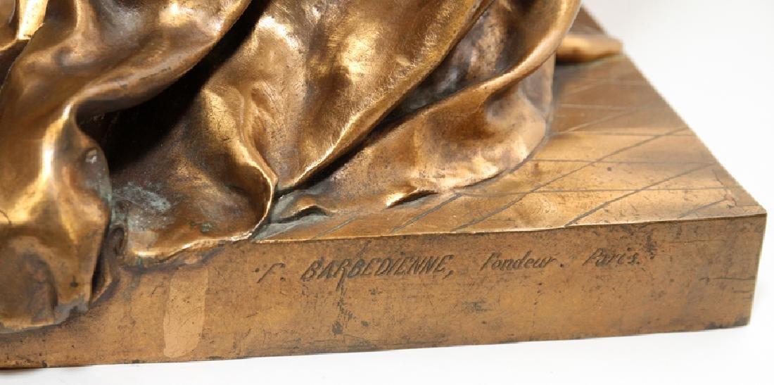 JEAN GAUTHERIN GOLD D'ORE BRONZE SCULPTURE, 1877 - 7