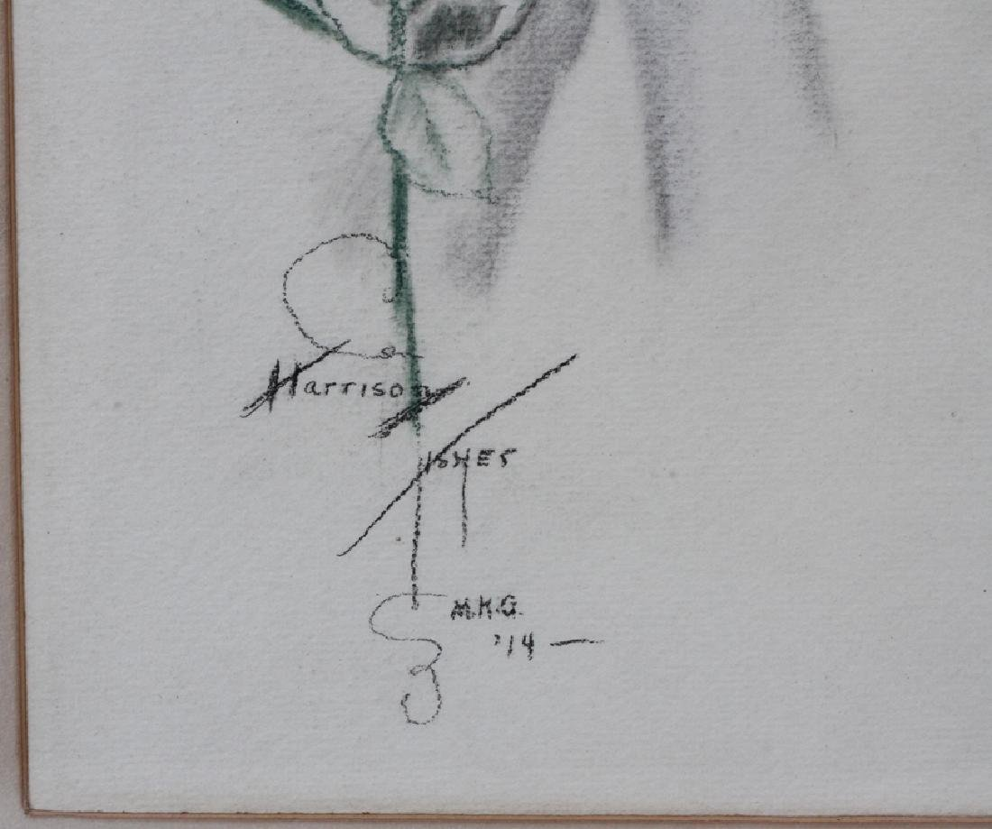 AFTER HARRISON FISHER MIXED MEDIA DRAWING, 1914 - 3