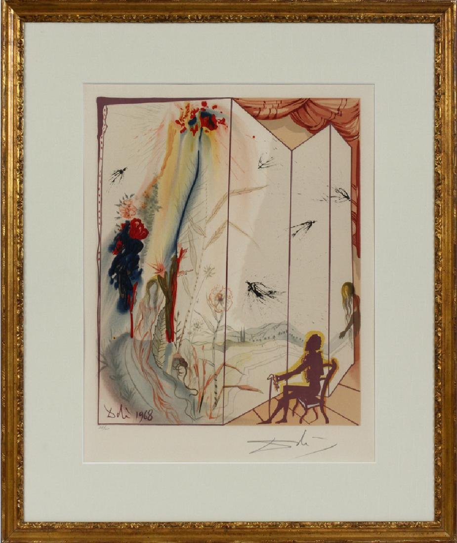 "SIGNED ""DALI"" LITHOGRAPH ON PAPER"