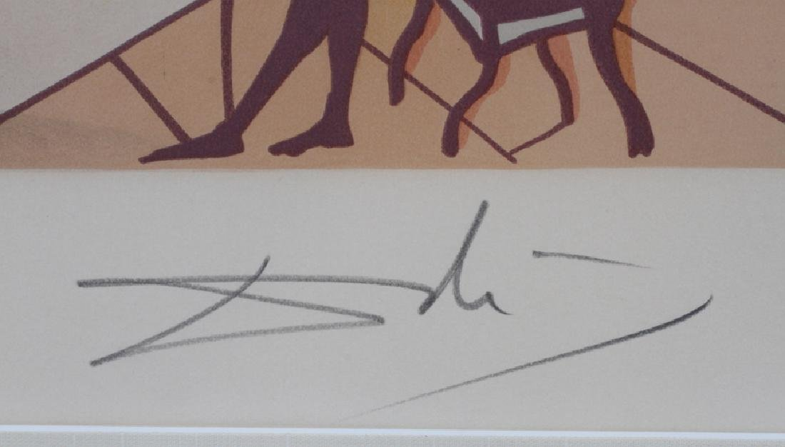 "SIGNED ""DALI"" LITHOGRAPH ON PAPER - 5"
