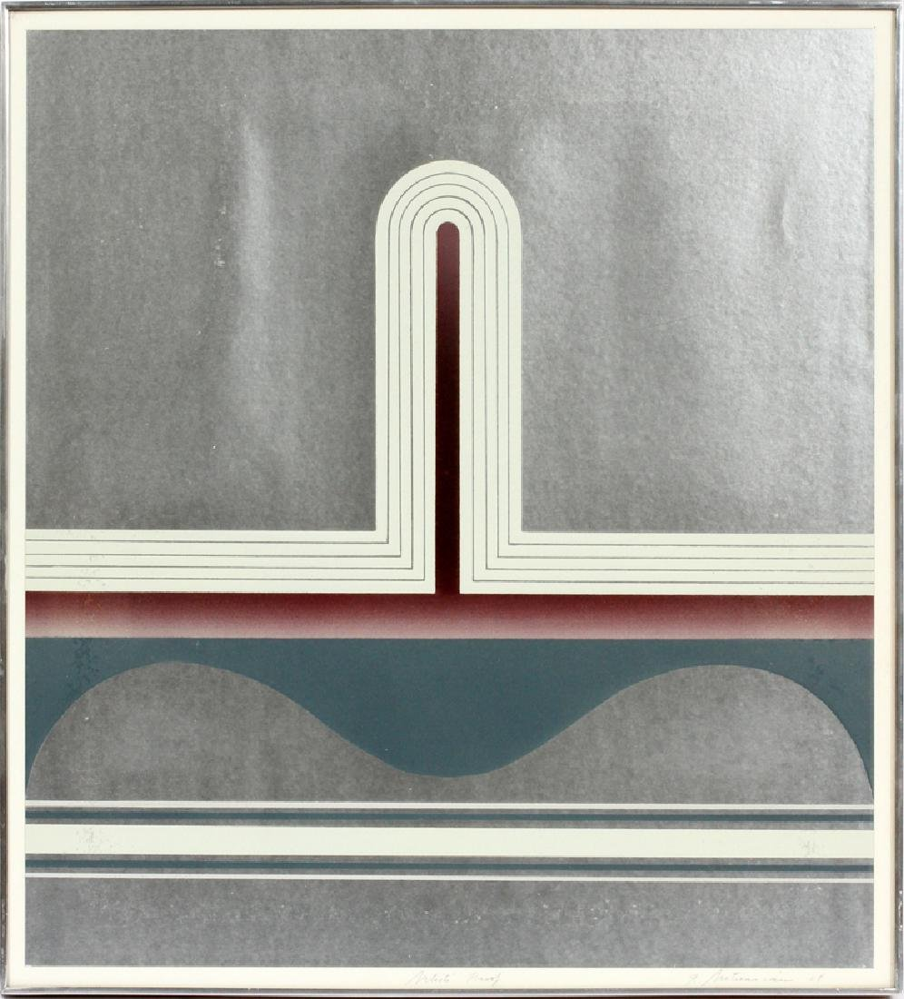 GARO ZAREH ANTREASIAN SCREENPRINT, 1968