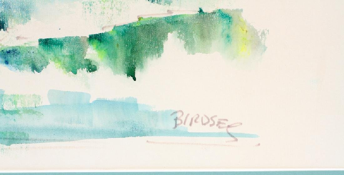 ALFRED BIRDSEY WATERCOLOR, H 17'', W 22'' - 4
