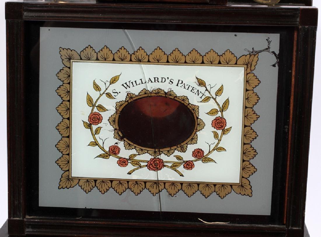 S. WILLARD'S PATENT BANJO MAHOGANY CLOCK - 2