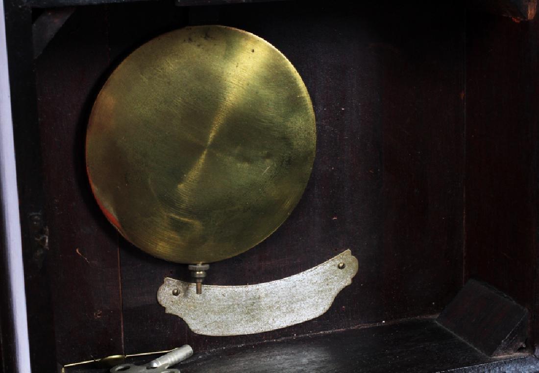 S. WILLARD'S PATENT BANJO MAHOGANY CLOCK - 4