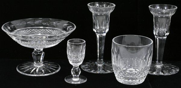 WATERFORD 'COLLEEN' CUT CRYSTAL PIECES
