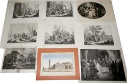 052538: OLD MASTER STYLE PRINTS & REPRODUCTIONS