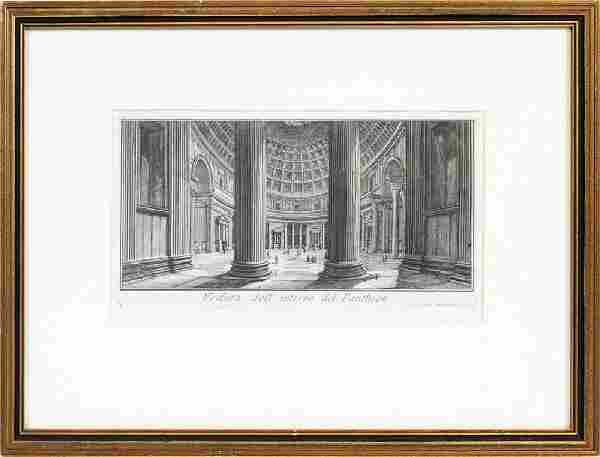 GIOVANNI BATTISTA PIRANESI ARCHITECTURAL ETCHING