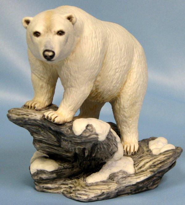 "063406: BOEHM BISQUE FIGURE 'POLAR BEAR' H5"""