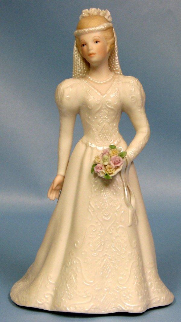 "063423: CYBIS BISQUE FIGURE 'BRIDE' H8"""
