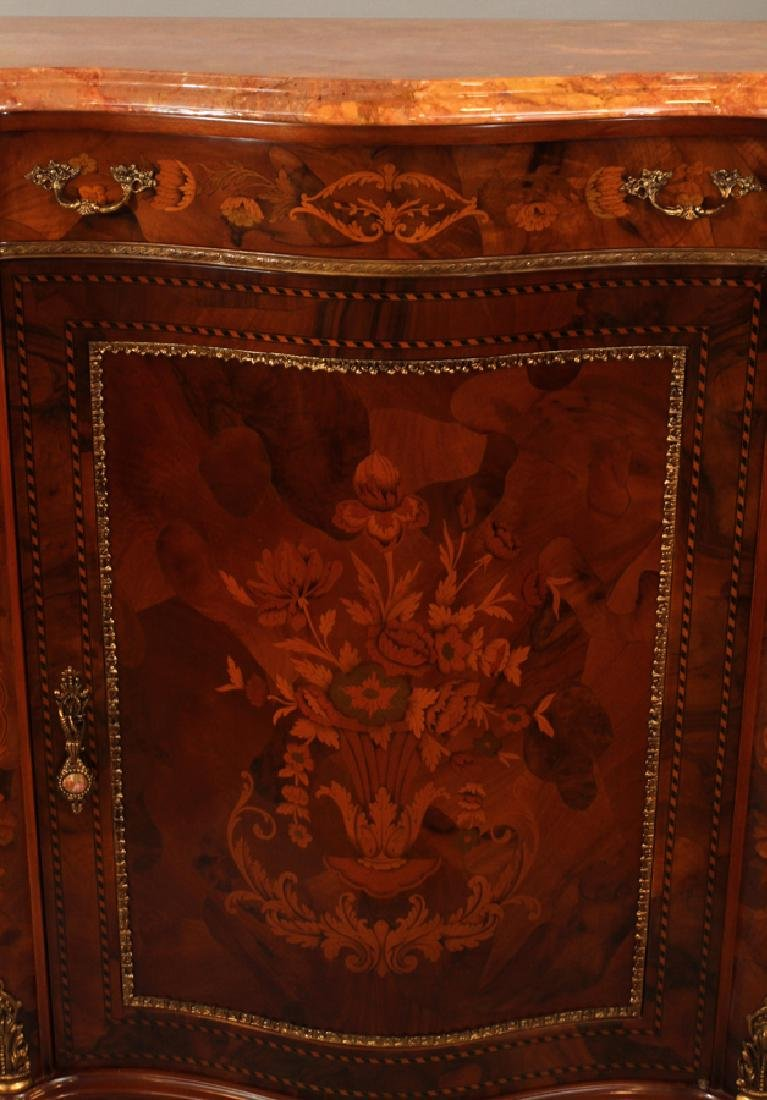HYDE PARK MARQUETRY INLAY CONSOLE CABINET - 2